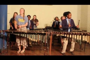 Embedded thumbnail for USA Marimba Cultural exchange performance
